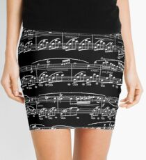 Nocturne by Chopin Mini Skirt