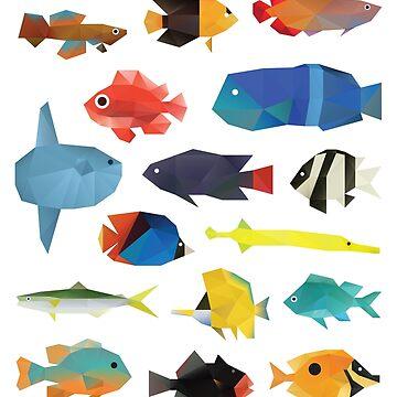 Tropical Fish chart by polymolystudio