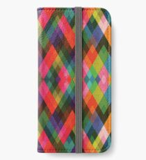 colorful geometric pattern iPhone Wallet/Case/Skin