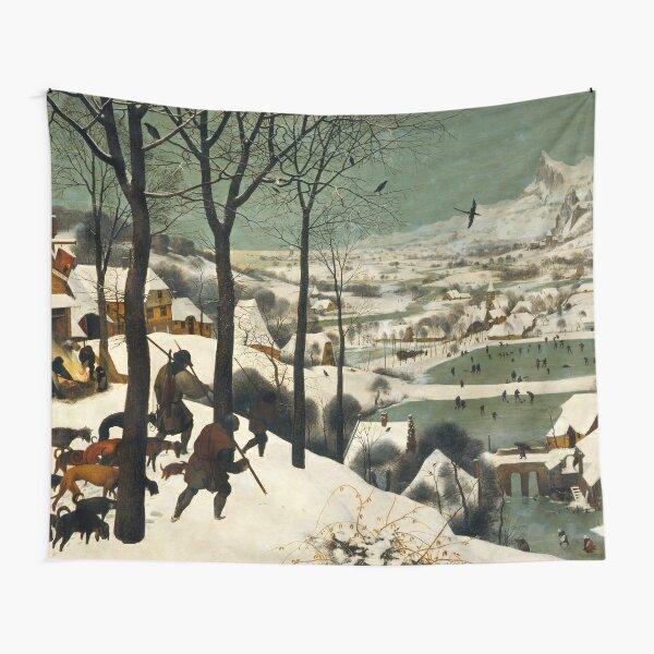 The Hunters in the Snow (1565) Pieter Bruegel the Elder Tapestry
