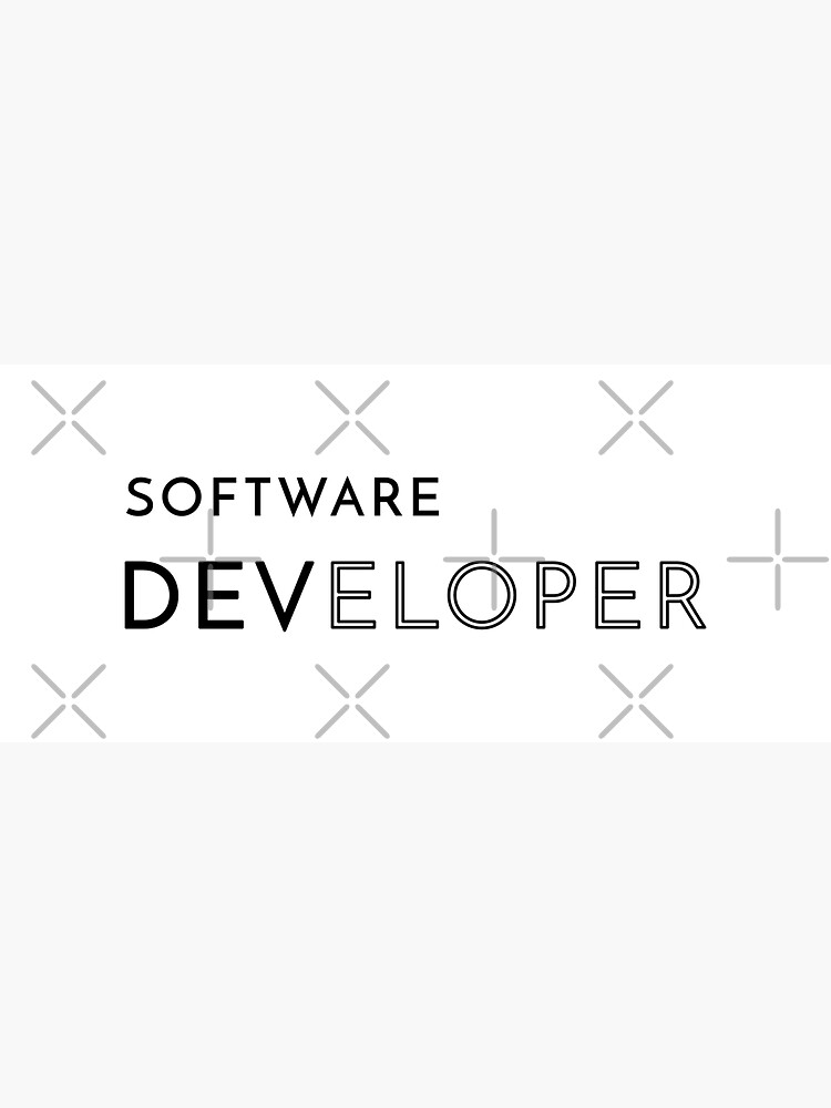 Software Developer (Inverted) by developer-gifts