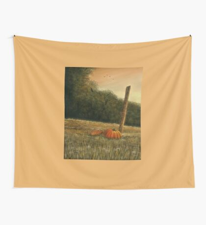 OCTOBER IN THE SOUTH, Acrylic Painting, for, prints and products Wall Tapestry