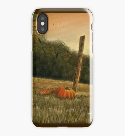 OCTOBER IN THE SOUTH, Acrylic Painting, for, prints and products iPhone Case