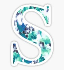 S Monogram Sticker