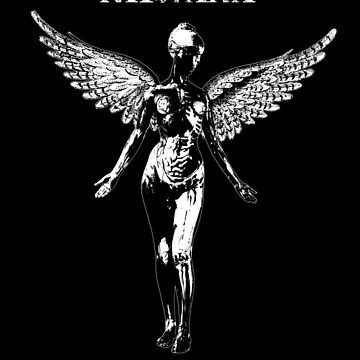 In Utero-Nirvana-Rock-Grunge-Music by carlosafmarques