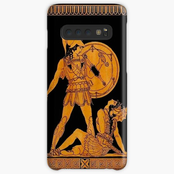 GREECE : Ancient God and Goddess Frieze Print Samsung Galaxy Snap Case