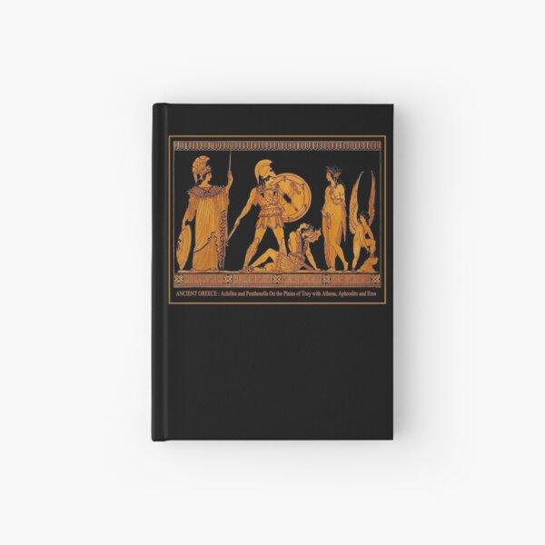 GREECE : Ancient God and Goddess Frieze Print Hardcover Journal