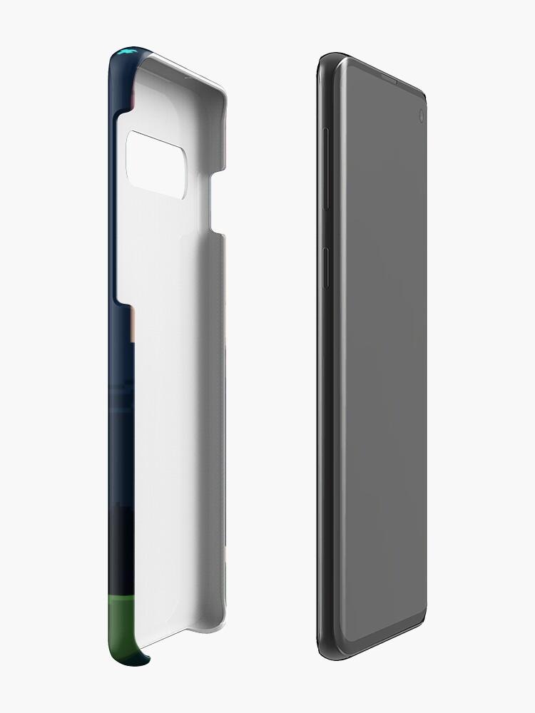 Alternative Ansicht von Spyro Welttor Hülle & Klebefolie für Samsung Galaxy