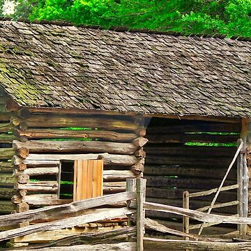 The Old Log Barn by RickDavis