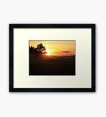 BMR Sunset Framed Print