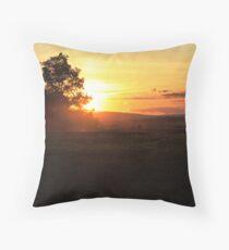 BMR Sunset Throw Pillow