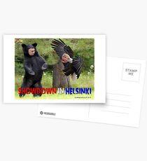Showdown in Helsinki Postcards