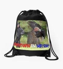Showdown in Helsinki Drawstring Bag