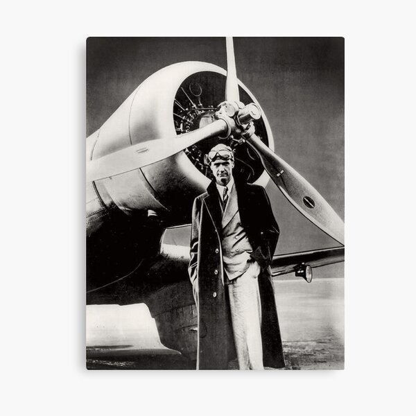 Howard Hughes - American Aviator Canvas Print
