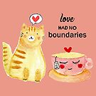 Watercolor love had no boundaries  by shashira