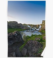 Waterfalls in Ellida River #1 Poster