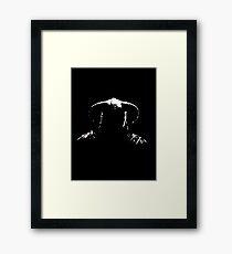 Dovakin silhouette Framed Print