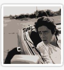 Benicio del Toro 8  Sticker