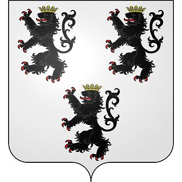 French France Coat of Arms 15473 Blason de la ville de Lucy Moselle by wetdryvac