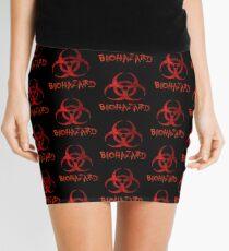 Biohazard symbol Mini Skirt