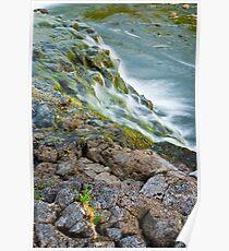 Waterfalls in Ellida River #2 Poster