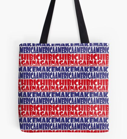 POLITICO-BOT: Make America Chibi Again Tote Bag
