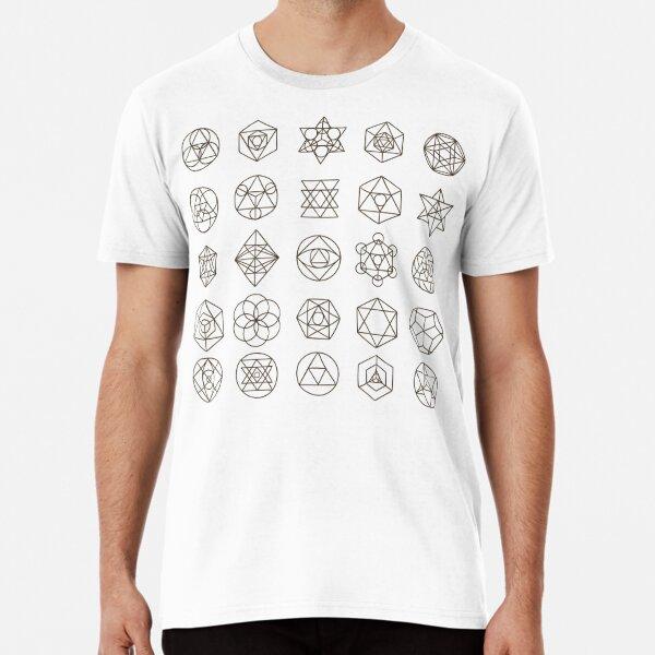 sacred geometry Premium T-Shirt