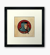 The Space Adventurer Framed Print