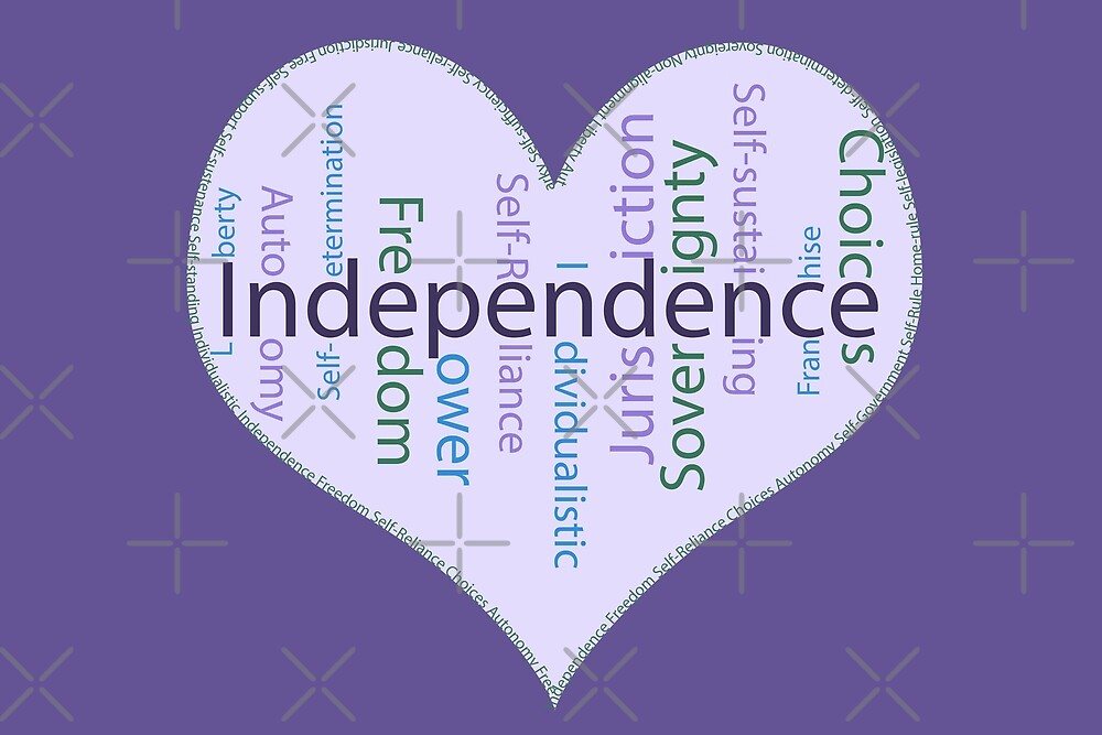 Independence Heart - Keeping it all together by SiobhanFraser