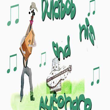 Dulcibob and his musical instruments by RareTexasGifts