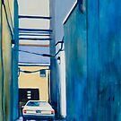 Private Parking by ashleywellsart