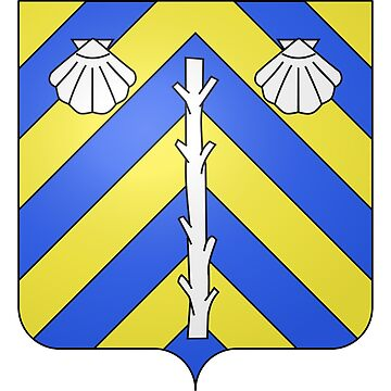 French France Coat of Arms 15477 Blason de la ville de Luppy Moselle by wetdryvac