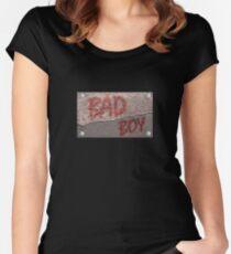 Streetwear, Bad Boy Tailliertes Rundhals-Shirt