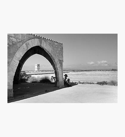 Trapani Salt Pans Photographic Print