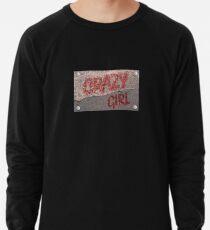 Streetwear Crazy Girl Leichter Pullover