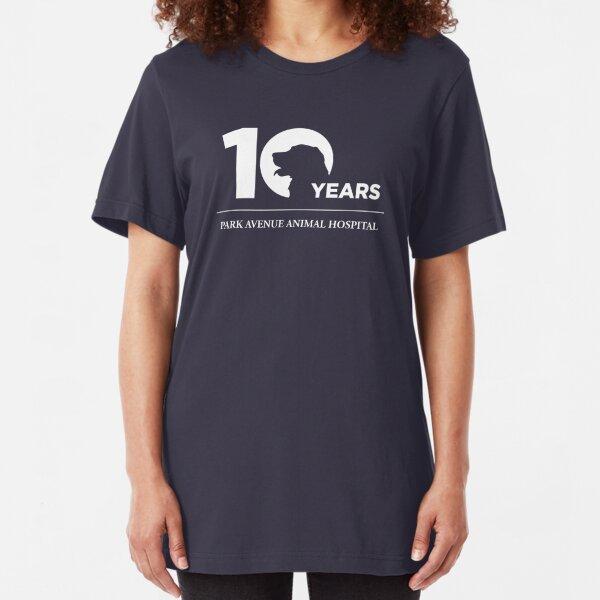 Park Avenue 10 Years (Dog) Slim Fit T-Shirt