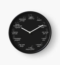 12 Schritte der Wiederherstellung Uhr Uhr