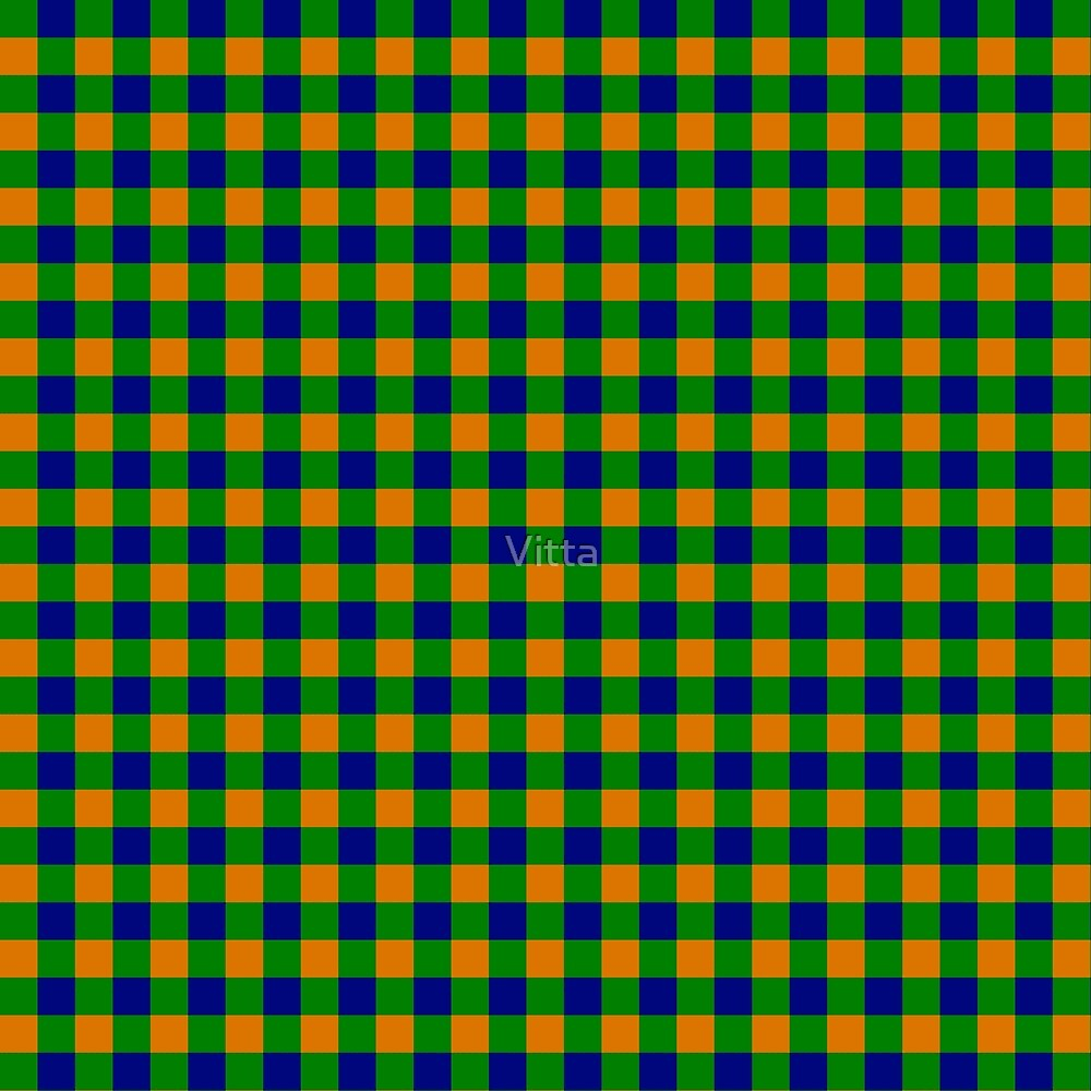 Multicolor Plaid Design by Vitta