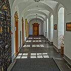 The Monastery Corridor by Viv Thompson