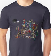 EUROPA - National Personifications Map - 1444 Unisex T-Shirt