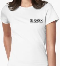 Globex Corporation Women's Fitted T-Shirt