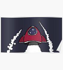 Zoom, Zoom Rocket Poster