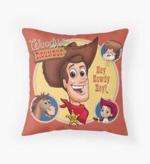 Woody's Roundup Throw Pillow