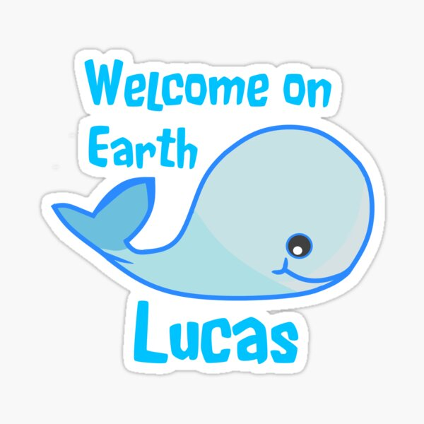 Baby Lucas Zur Feier Deiner Geburt Sticker
