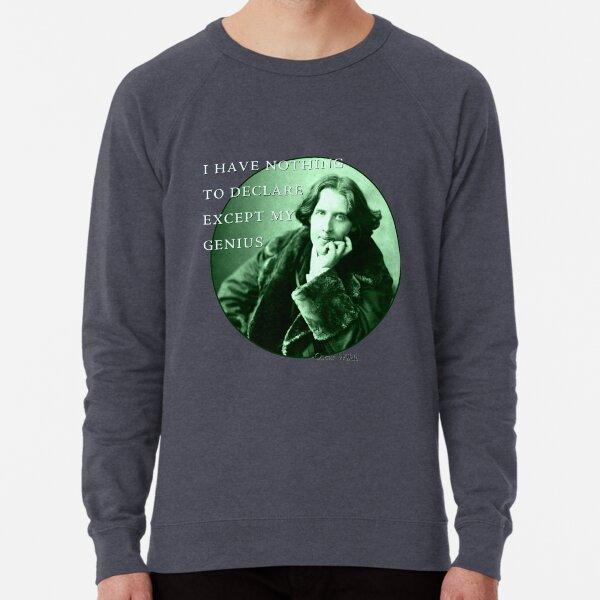 I Have Nothing To Declare Except My Genius Lightweight Sweatshirt