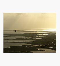 Flying near the Keys Photographic Print