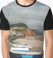 Sidmouth, Devon Graphic T-Shirt
