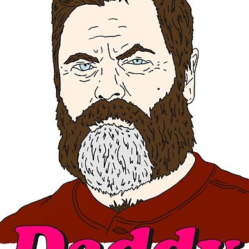 Nick Offerman Is My Daddy by Octobot52