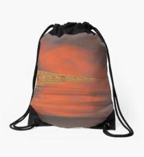 Enchanted evening Drawstring Bag