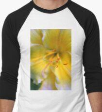 Yellow ! Men's Baseball ¾ T-Shirt